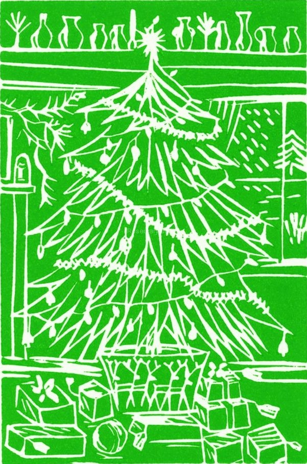 Christmas Tree Green