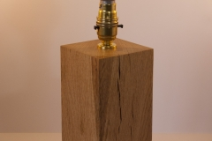 Aquila - reclaimed oak  Height 30cm, base 9.5 x 9.5cm