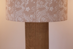 Lampshade Seashore Design - Pinky Beige
