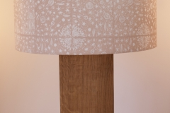Lampshade Solar System Design - Pinky Beige