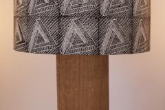 Lampshade Penrose Triangle Design - Black