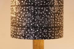 Lampshade Solar System Design - Black