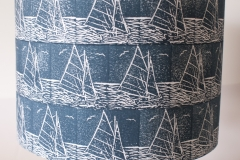 Lampshade Sailing Design - Denim