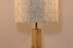 Lampshade Starfish Design - Silver Grey 25cm